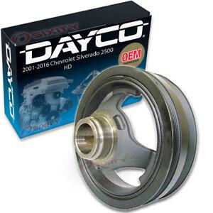 Dayco Engine Harmonic Balancer for 2001-2018 Chevrolet Silverado 2500 HD qw