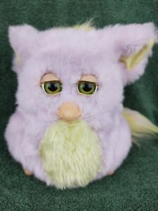 Funky Furby 62169 2006 Pink Yellow GREEN EYES Hasbro Tiger Electronics Works