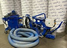 """Blastrac 1-15Dsg1 15"""" Shotblaster With 654 Dust Collector Low Hours"""