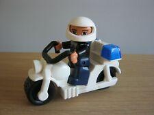 Rare Lego Duplo 4680 Traffic Patrol - Police Motorcycle