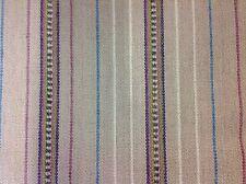 Osborne Little Jute Stripe Upholstery Fabric- Bukhara/Purple- 1.60 yd (F6452-03)