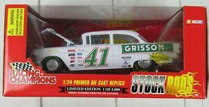 Racing Champions STOCK RODS 1:24 Diecast 1997 #41 Steve Grissom Hedrick
