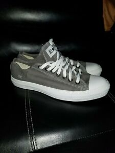 Converse Chuck Taylor All Star 70 Gray White Low Top Shoes Size 9.5, Unisex