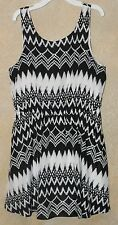 Rewind Teen Ladies Dress Size XL Worn Once Chevron Print