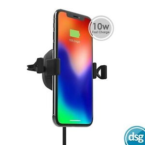 Mophie Wireless Charging Vent Mount for Cars ChargeStream Fast Charge in-car 10w
