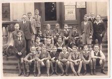 Gruppenfoto Schulklasse Hamburg 1941 Klimek Reifschläger Kause Krystofiak Held