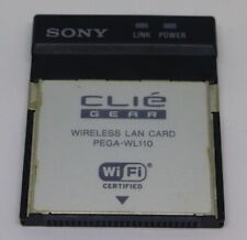 SONY CLIE WLAN PEGA-WL110 - WIFI PCMCIA - WIRELESS LAN CARD - CLIE GEAR - DHL