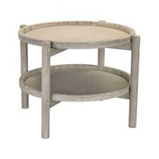 Sterling Signature Driftwood Finish Side Table 3200 020