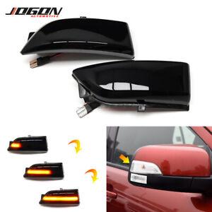 LED Dynamic Turn Signal Side Mirror Light For Ford Everest 15+ Ranger T6 Raptor