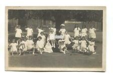 Balham, London photographer - unknown infant school, girls in costumes