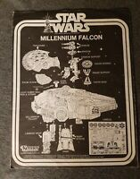 Vintage Star Wars Original 1977 Millennium Falcon Instructions