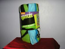 CHILDREN OFFICIAL TEENAGE MUTANT NINJA TURTLES DIMENSION FLEECE BLANKET  NEW