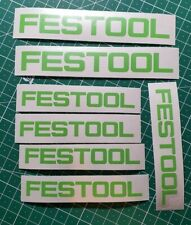 Festool Stickers, Decals for Systainer, Festool Track, Mugs, Etc.