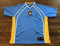 Milwaukee Brewers Cooperstown Collection Majestic MLB Baseball Jersey Size XL