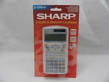 SCIENTIFIC AND SIMULATION CALCULATOR SHARP EL-520WB GCSE A AS LEVEL 419 FUNCTION