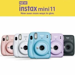 Fujifilm Instax Mini 11 Instant Film Camera Various Color Support Polaroid
