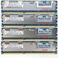 Hynix 16GB (4X4GB) PC3-10600R 1333Mhz DDR3 SDRAM 2Rx4 ECC 500203-061