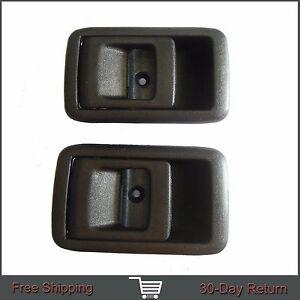 Fit Toyota Tacoma 4Runner Camry Inside Inner Left Right Side Black Door Handle