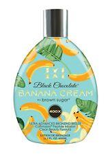 Double Dark Black Chocolate Banana Cream  Tanning Lotion with Advanced Bronzing