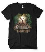 New! Led Zeppelin Band us heaven reprint T Shirt All Size S M L XL 234XL PP386