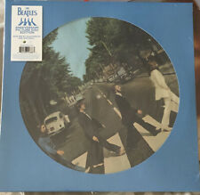 The Beatles ABBEY ROAD ANNIVERSARY PICTURE DISC Vinile Edizione Limitata Nuovo