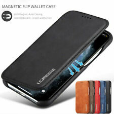Leather Phone Case Card Holder Wallet Flip Cover For iPhone 12 Pro 8 XS XR X 7 6