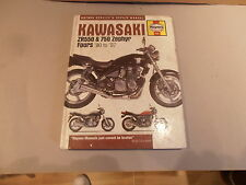 KAWASAKI ZR550 ZR750 HAYNES WORKSHOP MANUAL HARD BACK