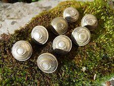 8 anciens boutons corps de chasse métal argenté  Maurice bourdon , Militaire