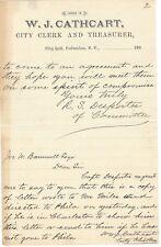 3 SC Confederate Officer Autographs; Atlanta, Fort Sumter, Siege of Charleston