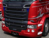 Scania P/G/R R 2009+ Series Chrome Grill Air Flow Trim STAİNLESS STEEL