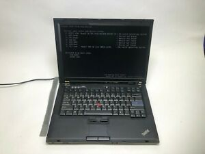 Lenovo Thinkpad T61 Laptop 2.00 GHz T7250 CPU  2GB 80GB Windows 7  D6