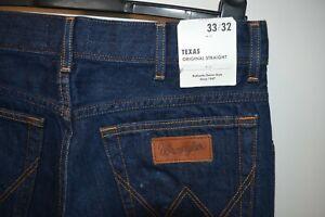 Vintage Wrangle Texas straight denim jeans size W 33 L 32 western rockabilly