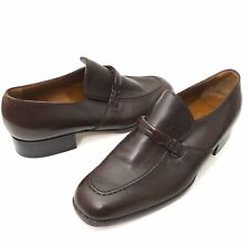 Bally Switzerland Mens 6 D Marlon Loafer Slip On Extra Souple Wing Brown Leather