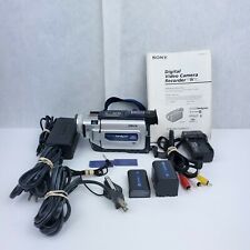 New ListingSuper SteadyShot Sony MiniDv Camcorder Dcr-Trv17 video transfer tested working