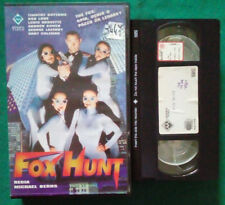 VHS FILM Ita Azione FOX HUNT rob lowe lewis arquette ex nolo no dvd cd lp (V111)