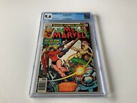 MS. MARVEL 13 CGC 9.6 WHITE PGS OLD IRONSIDES CAROL DANVERS MARVEL COMICS 1978