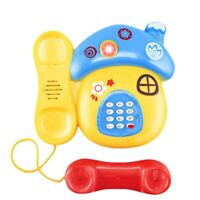Baby Toys Sound Light Early Childhood 0-12 Months Cartoon Mushrooms Telephon 6F9