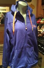 North Face Front Sweatshirt Jacket Hoodie Large XL Monster Blue GUC