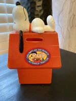 Snoopy bank 1966 United Feature Syndicate Peanuts dog Vintage Bank- Chex 40 Year