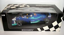 1/18 MINICHAMPS SAUBER F1 K. Raikkonen PETRONAS RED BULL MALAYSIA MINT BOXED