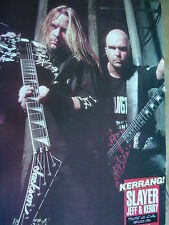 SLAYER - MAGAZINE CUTTING (FULL PAGE PHOTO) (REF KB1)