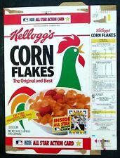 Kellogg's Corn Flakes Flattened Cereal Box 1993 All Star Baseball Card