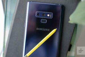 """Very Clean Samsung Galaxy Note 9- Verizon - Blue-128GB """"See Description"""""""