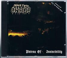 ORDER FROM CHAOS PLATEAU OF INVINCIBILITY  CD F.C.