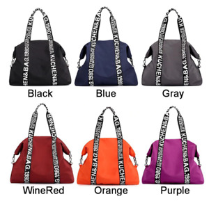Large Women Bag Nylon Travel Bag Casual Female Handbag Totes Ladies Shoulder Bag