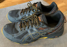 Asics Gel-Venture 6 trail shoes.  Men's 12.  Very little use.  Great soles, Gray