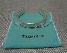 Tiffany & Co. 1837 Silver Cuff Size Small Bangle Authentic Bracelet 925