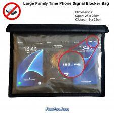 Grand Famille Time Téléphone Brouilleur De Signal Sac - Ne Pas Déranger At Repas