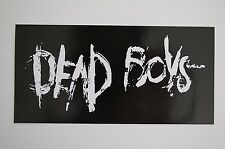 Dead Boys Sticker Decal (88) Punk Rock Adolescents The Clash Ramones Car Window
