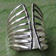 tribe Size 7 N Adjustable Ring Fine Silver Karen Hill